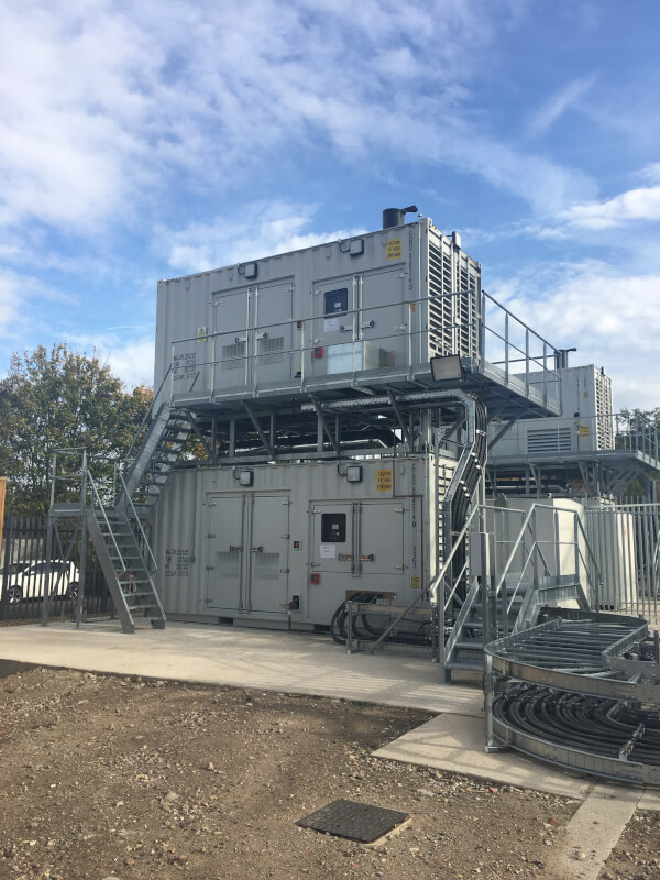 Erith generator units