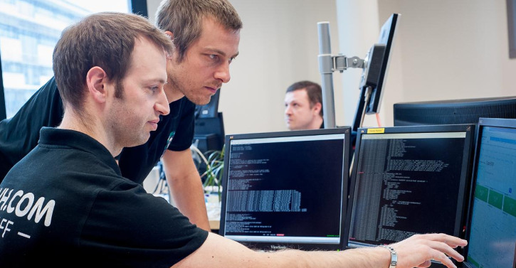 The OVH team watches over the VPS infrastructure 24/7.