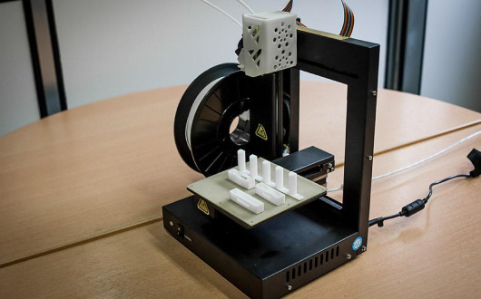 3D printing gives the opportunity to manufacture many mechanical parts for the servers.