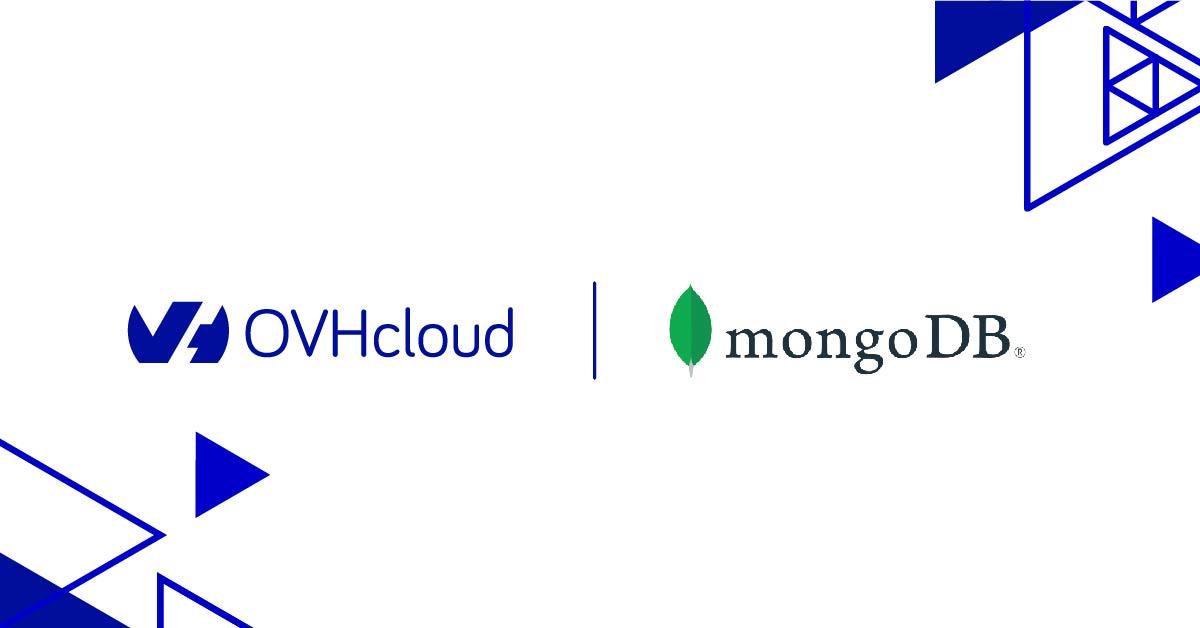 ovhcloud and MongoDB logos