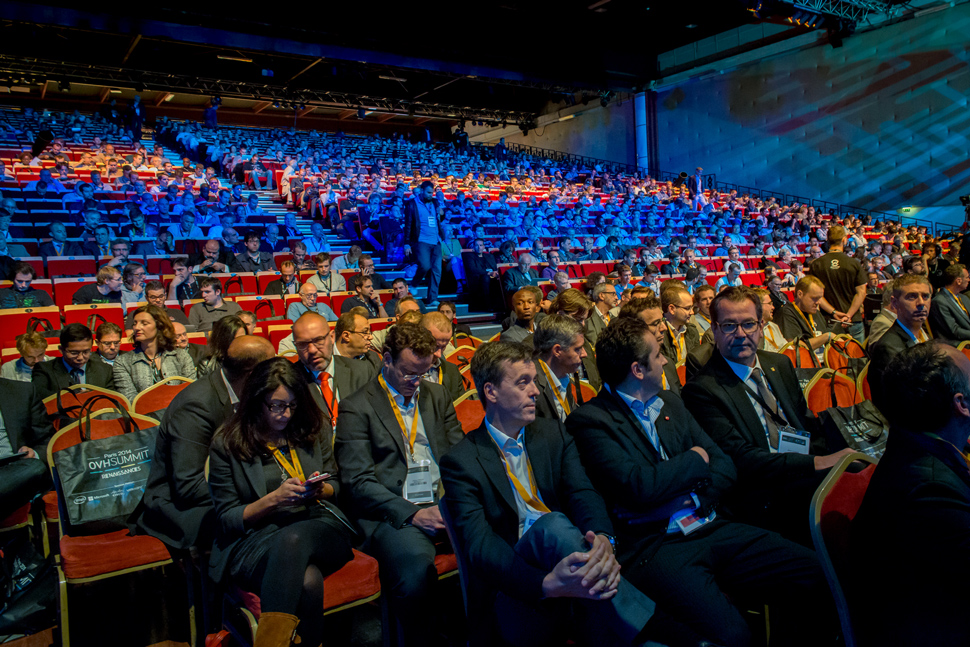 Le keynote matinal du Summit 2014 a fait salle comble.