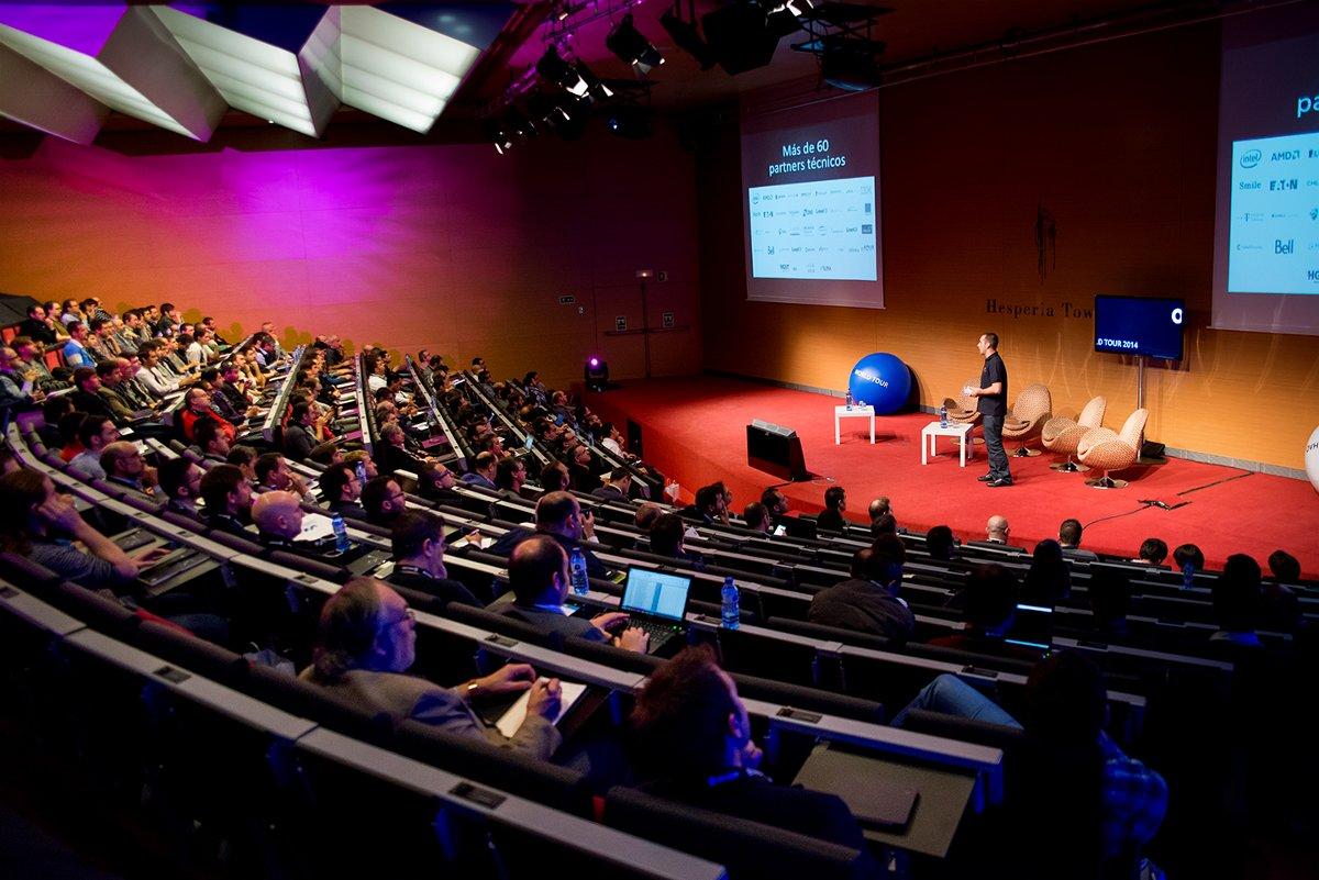 L'OVH World Tour 2014 a fait deux arrêts sur la péninsule ibérique, à Madrid et Barcelone.