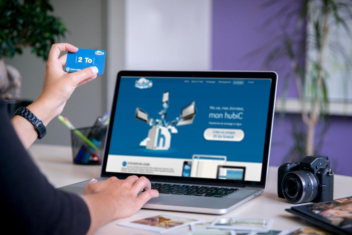 hubiC sera prochainement disponible dans les rayons multimédias de 130 magasins, sous la forme de cartes prépayées.
