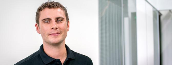Maxime Hurtrel, chef de produit chez OVH