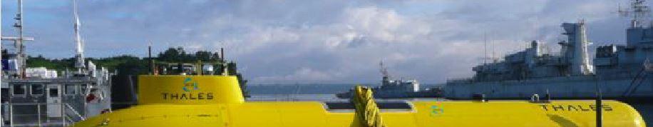AUV ASEMAR lors des essais sur Sea Test Base.