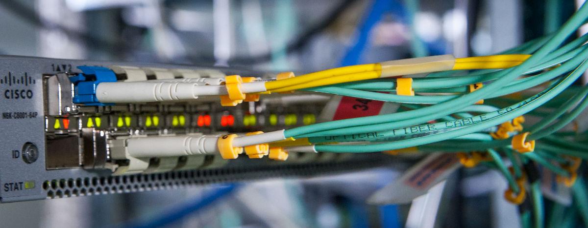 L'un des switches Cisco Nexus 6001 du réseau vRack.