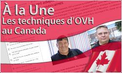 Les techniques d'OVH au Canada