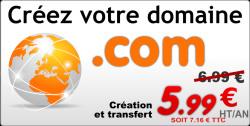Réservez vos domaines .com