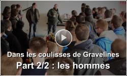 Les hommes arrivent à Gravelines