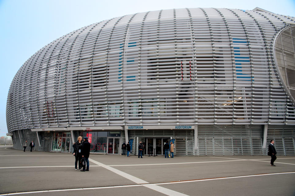 The OVH World Tour in Lille was held at the Pierre-Mauroy de Villeneuve-d'Ascq stadium, Lille OSC's homeground