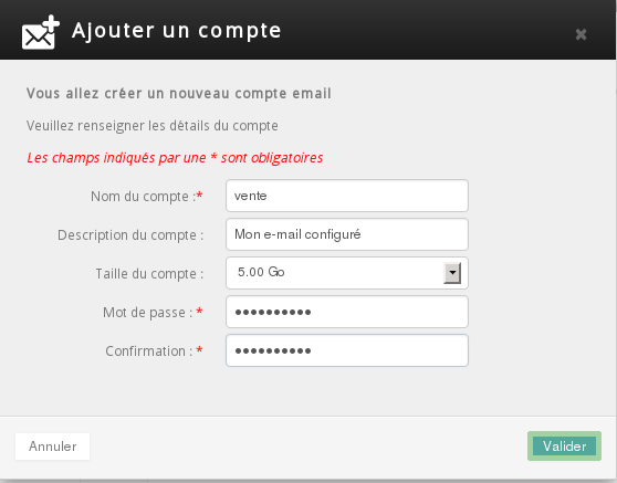 Hosted email: How to set up an email address - OVH