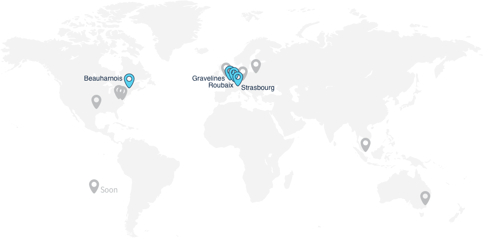 A strong global infrastructure - OVH